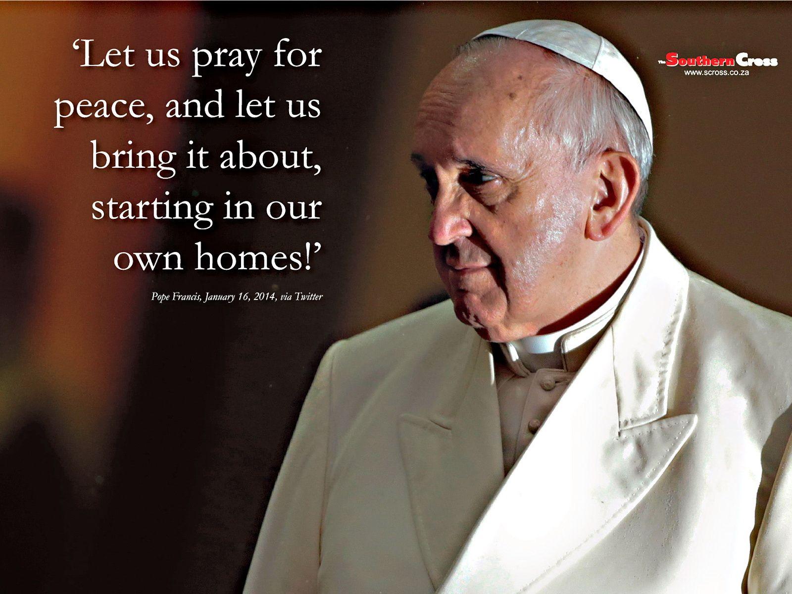 peace pope